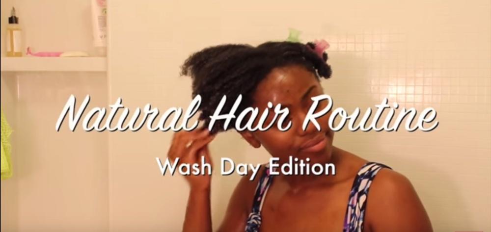bnfrofriday chizi duru washing natural hair bellanaija may2016 aScreen Shot 2016-05-20 at 13.20.23_