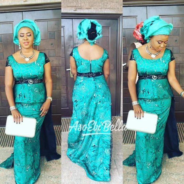 dress by @surahbawacouture