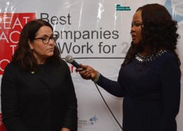 Monica Peach HR Director Guinness Nigeria and Rose Keffas (The HR Consultant) interview on what makes Guinness an Employer of choice