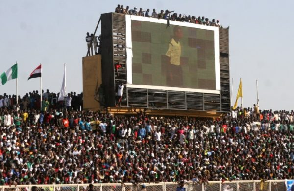 kaduna-stadium-during Egypt clash