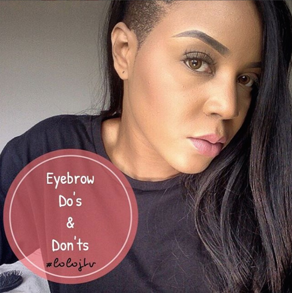 lola oj eyebrows bellanaija may2016_Screen Shot 2016-05-10 at 22.20.40