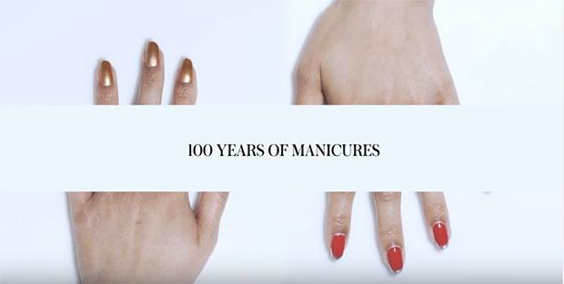 mainures nail art bellanaija may2016100-years-manicures-_