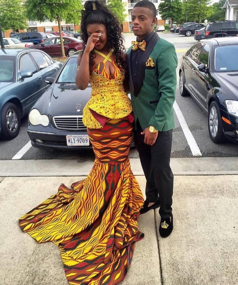 Prom2016 Bellanaija Style Presents 16 African Print Prom Dresses We