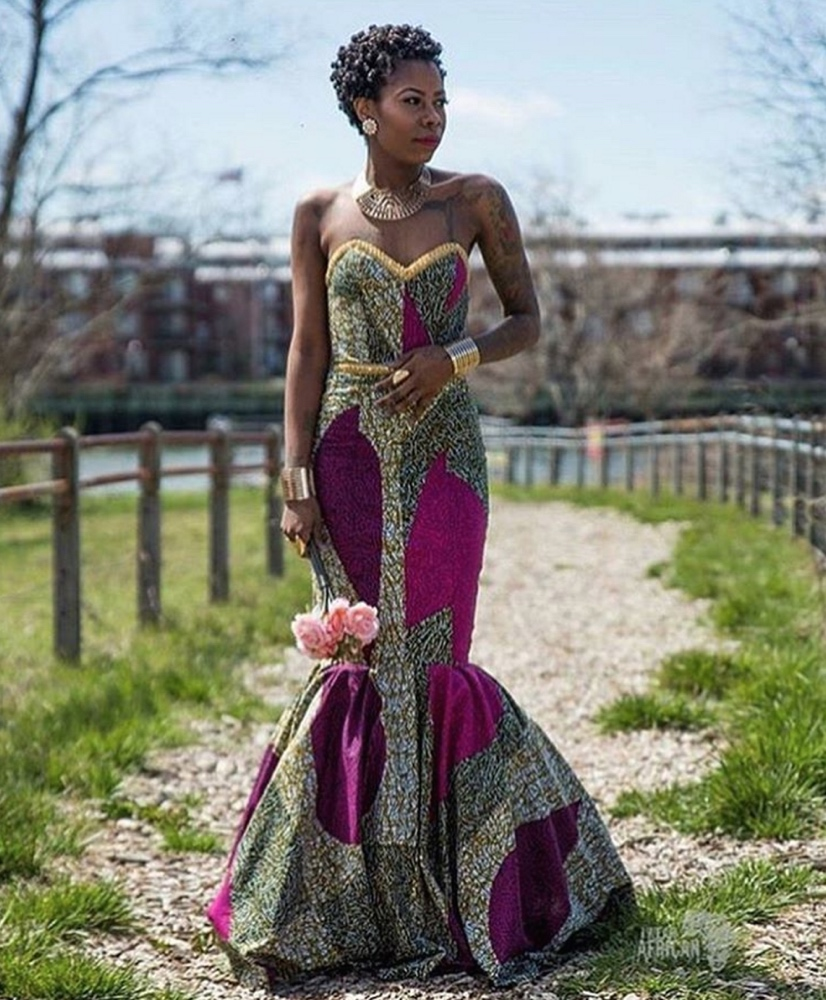 African Wedding Gown: #Prom2016! BellaNaija Style Presents 16 African Print Prom