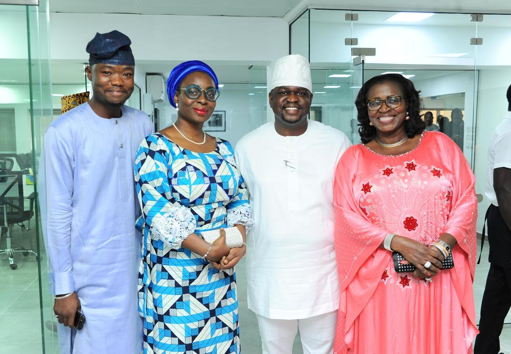 Gbenga Ajala, Yeye Bush, Kayode Adegbola & Funso Adegbola