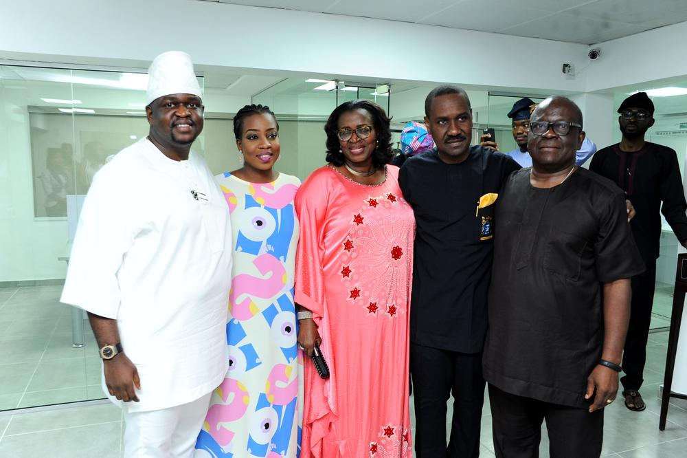 The Adegbolas and Pastor Ituah Ighodalo