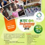 2016 W-TEC Girls Camp Flyer