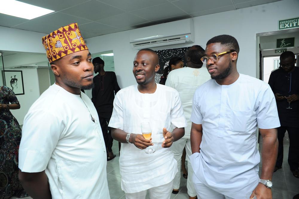 Lakunle Runsewe, Yomi Fadojutimi and Tayo Ilori