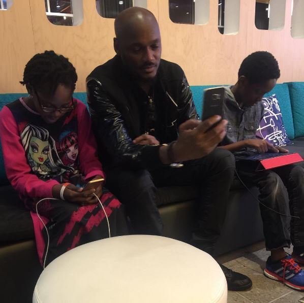 2Baba and Pero Adeniyi Kids