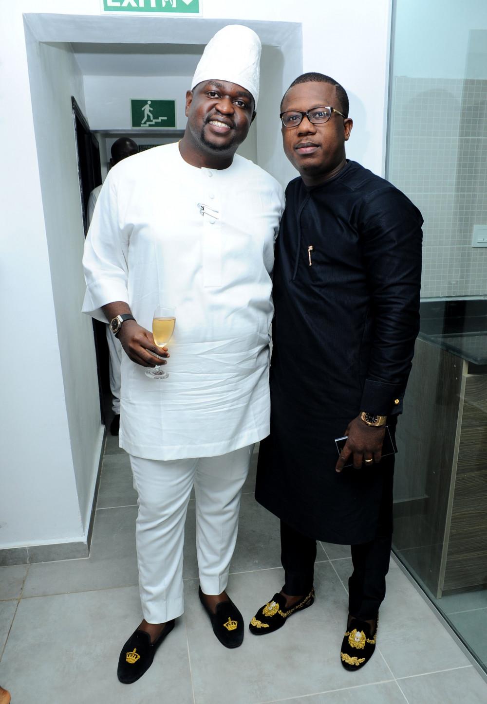 Kayode Adegbola and Folajimi Lai-Mohammed