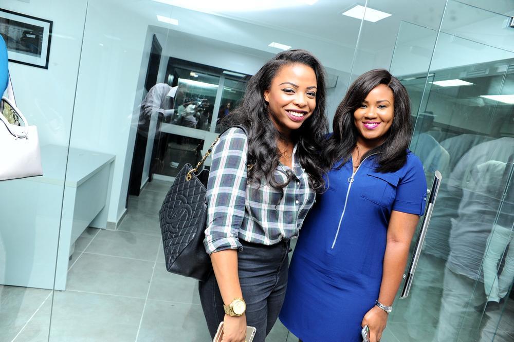 Funlola Obe and Tope Ogunbiyi