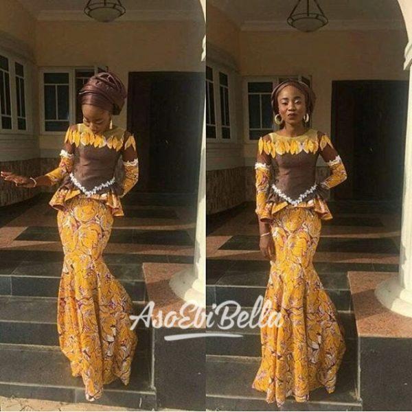 @pinky_kulu Dress by @kuluabuja