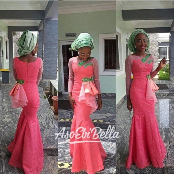 @pinky_kulu in dress by @kuluabuja