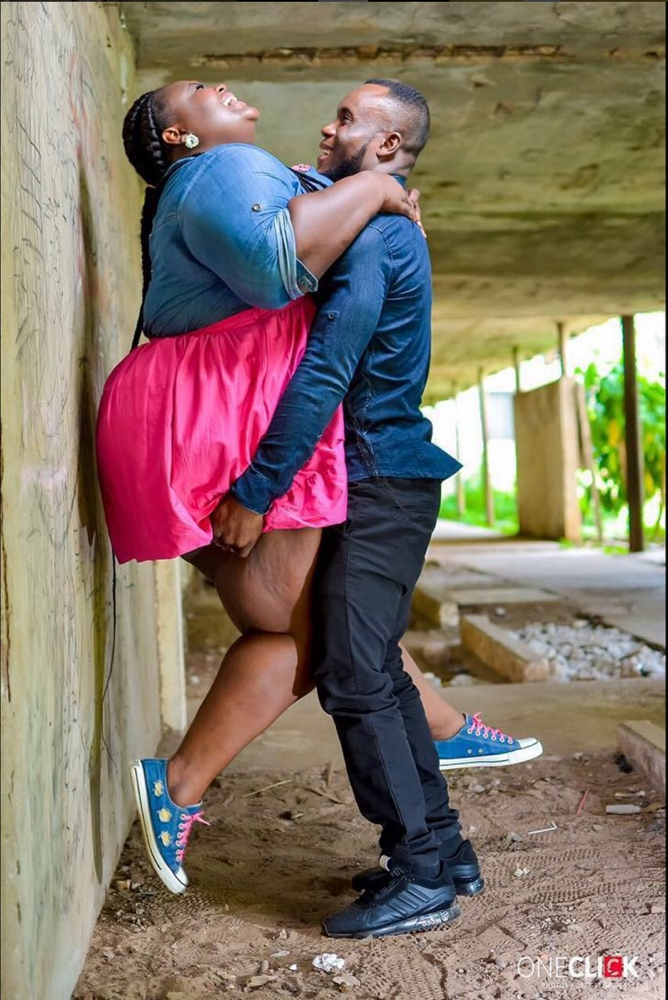 Fat ghanaian girl Abena and Prince_Pre-Wedding Shoot