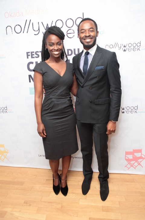 Aissa Maiga (french actress) and OC UKEJE (Prey)