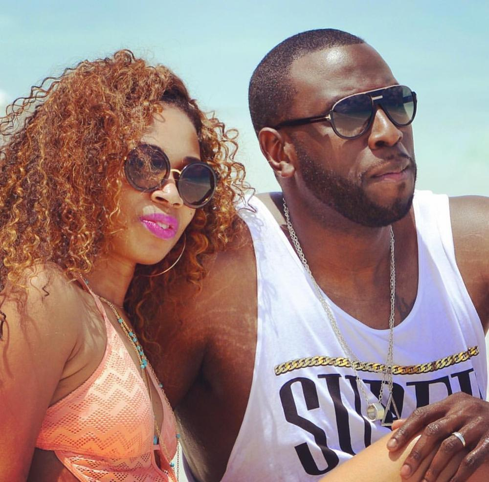 Amaka and Chinedu on their Honeymoon in Turks & Caicos