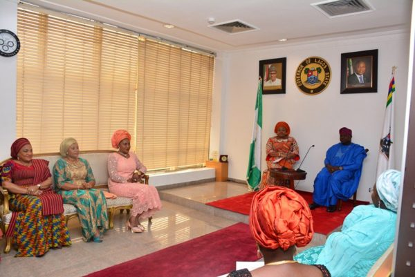 Ambode hosts Southern Govs Wives3