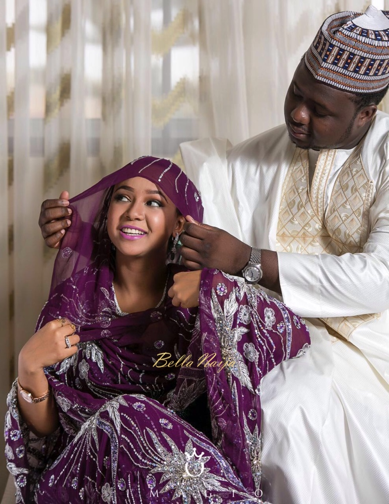 Amne and Ahmed Bala Muhammed_Northern Nigerian_Hausa Wedding_2016_image_2
