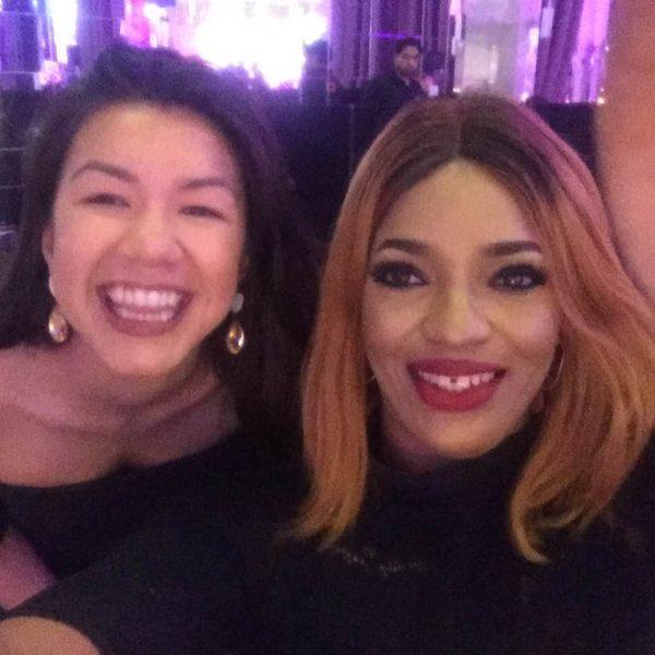 Amy Nguyen, Events Coordinator, Transform Awards with Mrs. Noella Ekezie Founder, Ellae Creative Agency