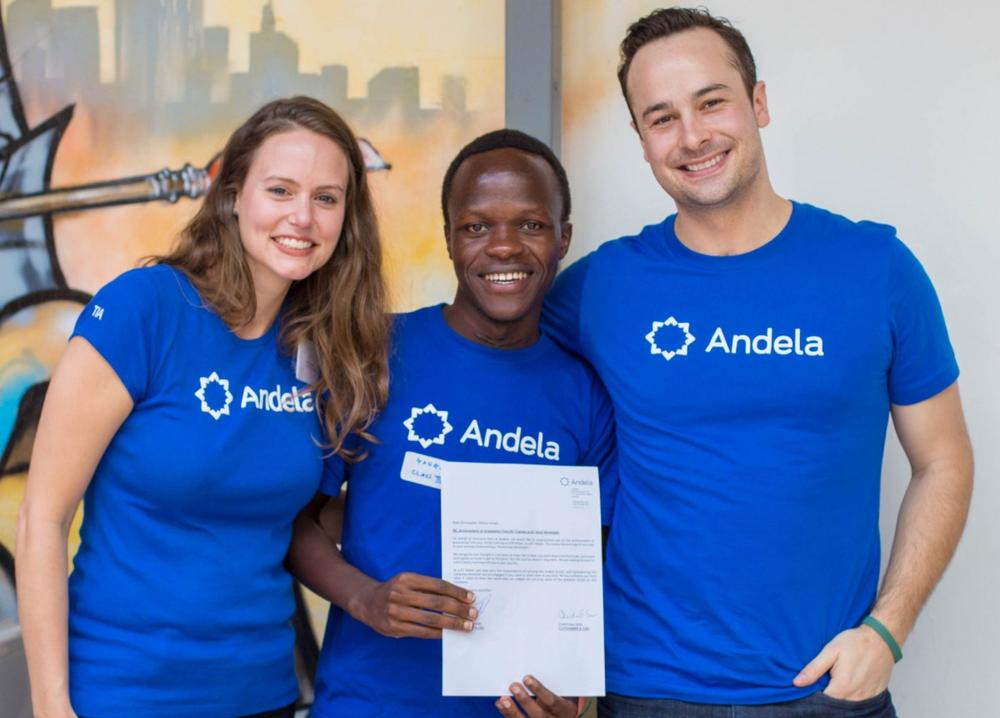 Image result for Andela president and cofounder Christina Sass.