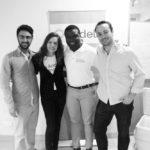 "Andela Co-Founders Ian Carnevale, Christina Sass, Iyin ""E"" Aboyeji and Jeremy Johnson"