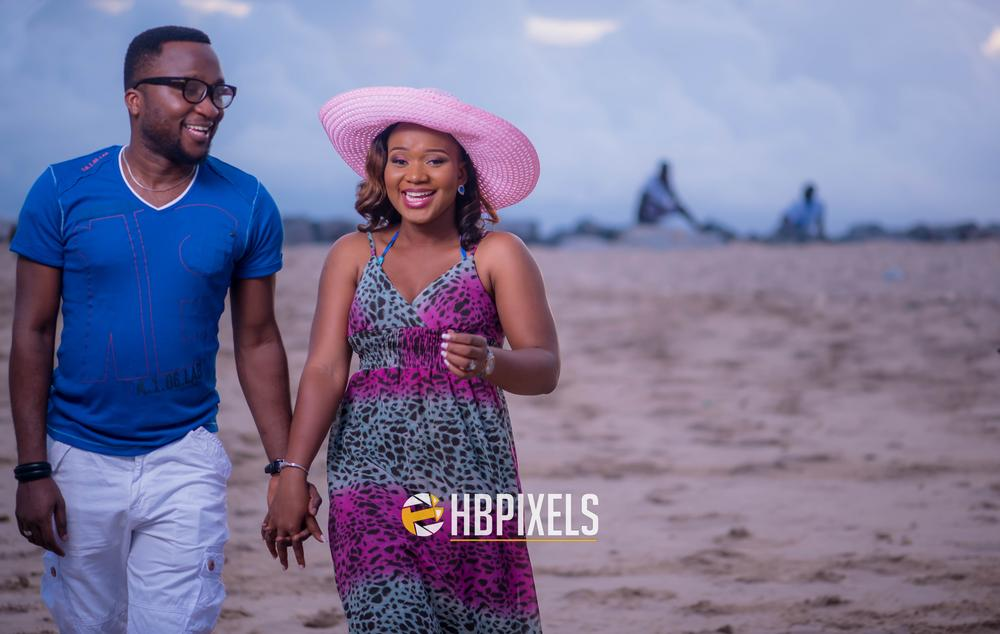 Beach Pre Wedding Shoot in Lagos 2