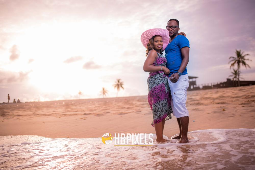 Beach Pre Wedding Shoot in Lagos 3