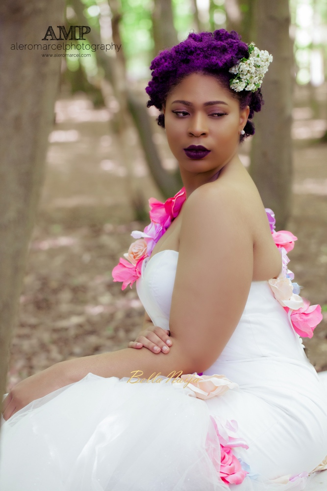 Berry Curvy Bridal Inspiration_Plus Size Black Bride_BellaNaija Weddings June 2016_Wedding shoot-11-3