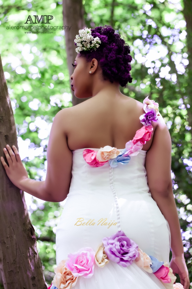 Berry Curvy Bridal Inspiration_Plus Size Black Bride_BellaNaija Weddings June 2016_Wedding shoot-14-3