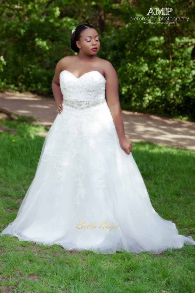 Berry Curvy Bridal Inspiration_Plus Size Black Bride_BellaNaija Weddings June 2016_Wedding shoot-30