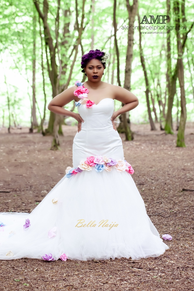 Berry Curvy Bridal Inspiration_Plus Size Black Bride_BellaNaija Weddings June 2016_Wedding shoot-9-4