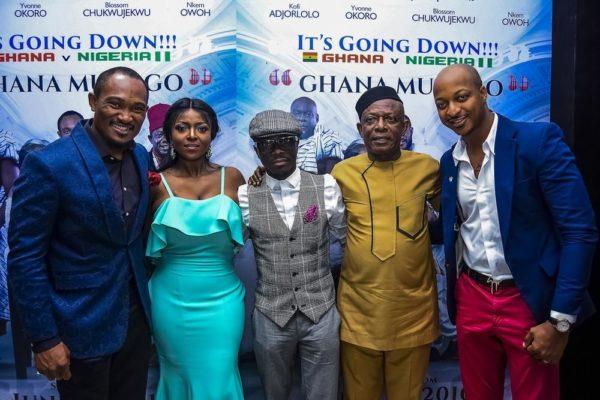 Blossom, Yvonne Okoro, Julius Agwu, Osuofia, IK Ogbonna