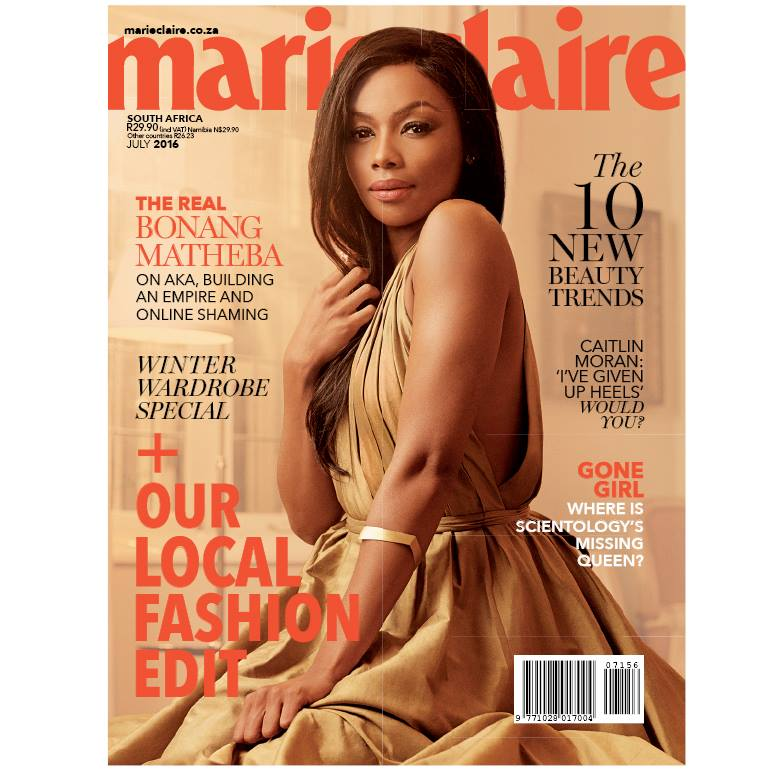 Bonang-Matheba-Marie-Claire-South-Africa