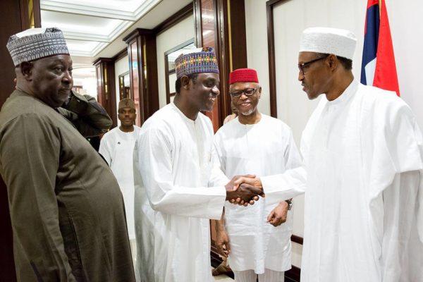 Buhari Hosts APC Leaders to Dinner4