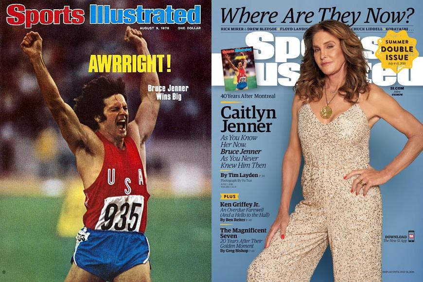 Caitlyn Jenner Sports Illustrated Magazine