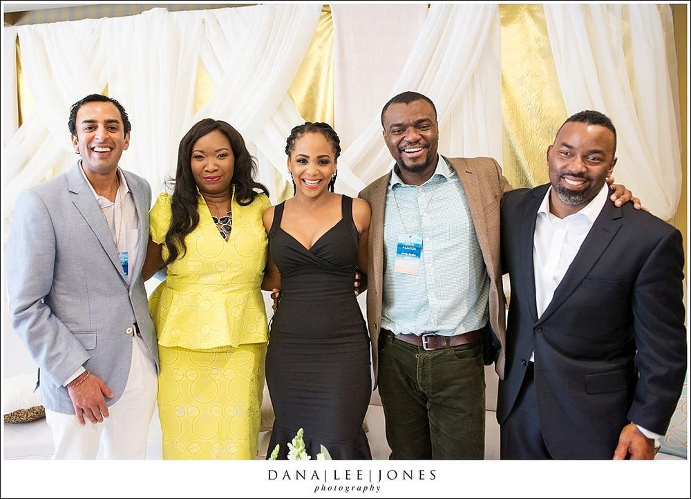 Gohel of Maharani Weddings, Chioma Nwogu-Johnson of Dure Events, Ink Eze of BellaNaija Weddings, Photographers Jide Alakija, Keith Cephus