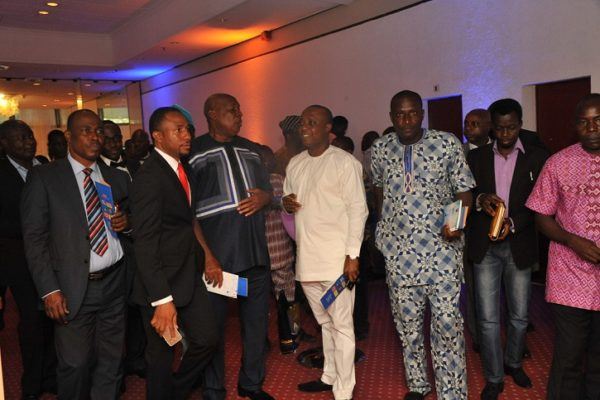 A group of journalists at the 2016 Promasidor Quill Awards event held at Sheraton Lagos Hotel …recently