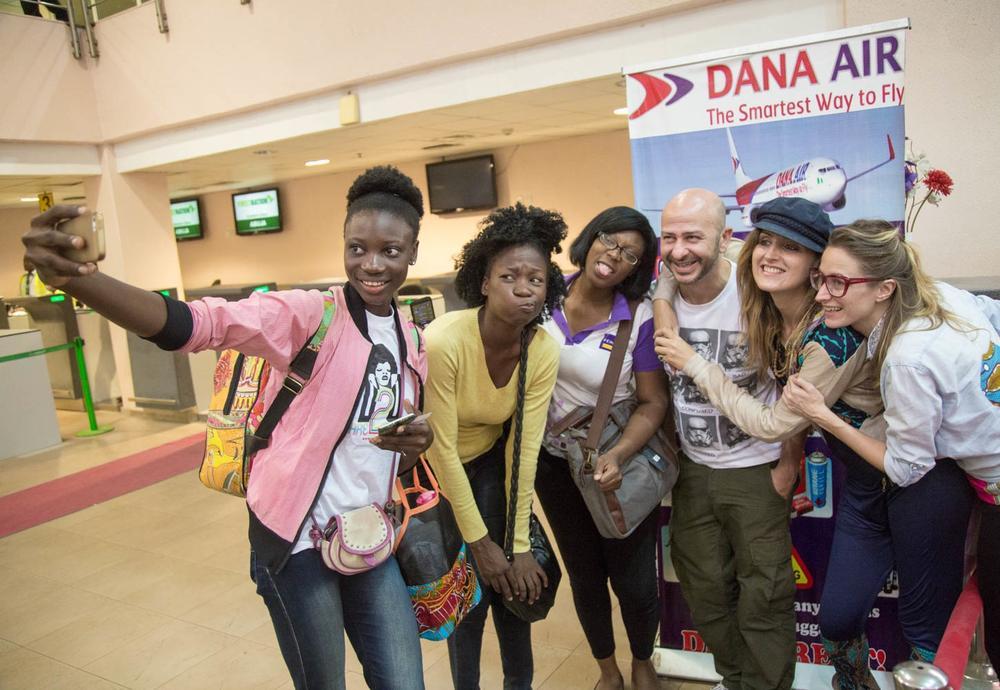 Dare2Dream Team and Dare2BePurple heading to Abuja