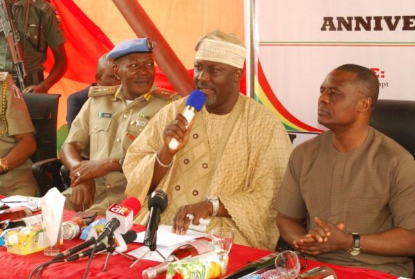Senator Dino Melaye at PCN's 18th anniversary.