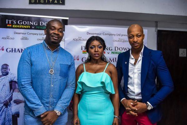 Don Jazzy, Yvonne Okoro, IK Ogbonna