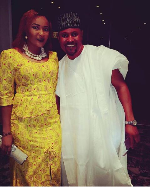 Doris Simeon and Saheed Balogun