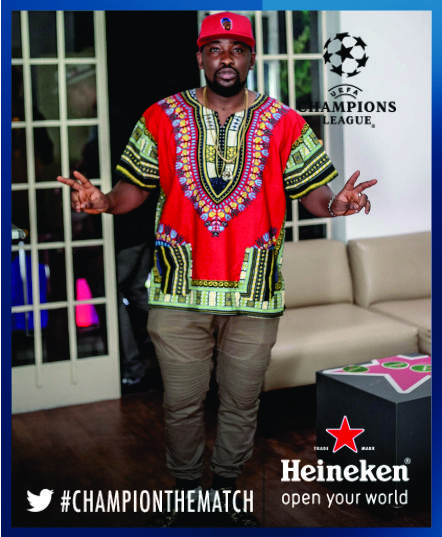 Dotun at the Heineken House Lagos (2)