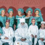 Emir of Kano Sanusi and Children