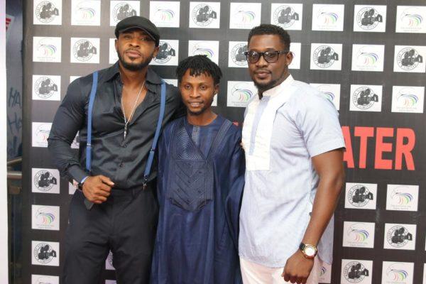 Enyinna Nwigwe, Asurf Oluseyi and Daniel K Daniel