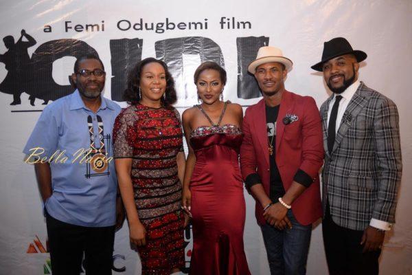 Femi Odugbemi, Wangi Mba-Uzoukwu, Hauwa Allahbura, Gideon Okeke & Banky W