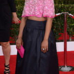 LOS ANGELES, CA - JANUARY 18:  Actress Kerry Washington arrives at the 20th Annual Screen Actors Guild Awards at The Shrine Auditorium on January 18, 2014 in Los Angeles, California.  (Photo by C Flanigan/Getty Images)