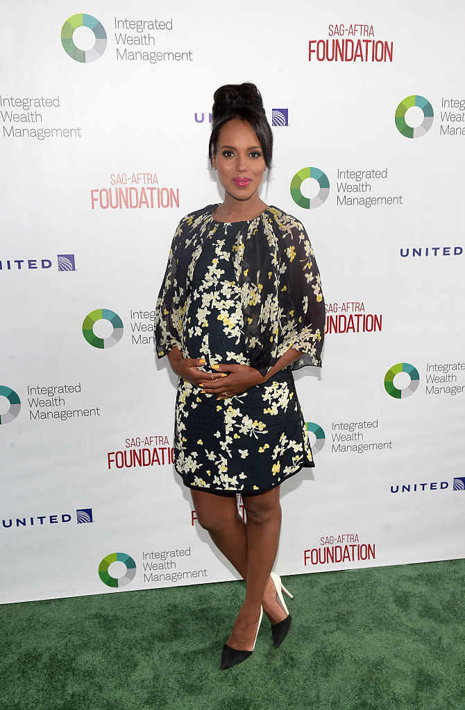 LOS ANGELES, CA - JUNE 13: Actress Kerry Washington, Actors Inspiration Award Recipient, attends the SAG-AFTRA Foundation 7th Annual L.A. Golf Classic Fundraiser on June 13, 2016 in Los Angeles, California. (Photo by Jason Kempin/Getty Images for SAG-AFTRA Foundation)