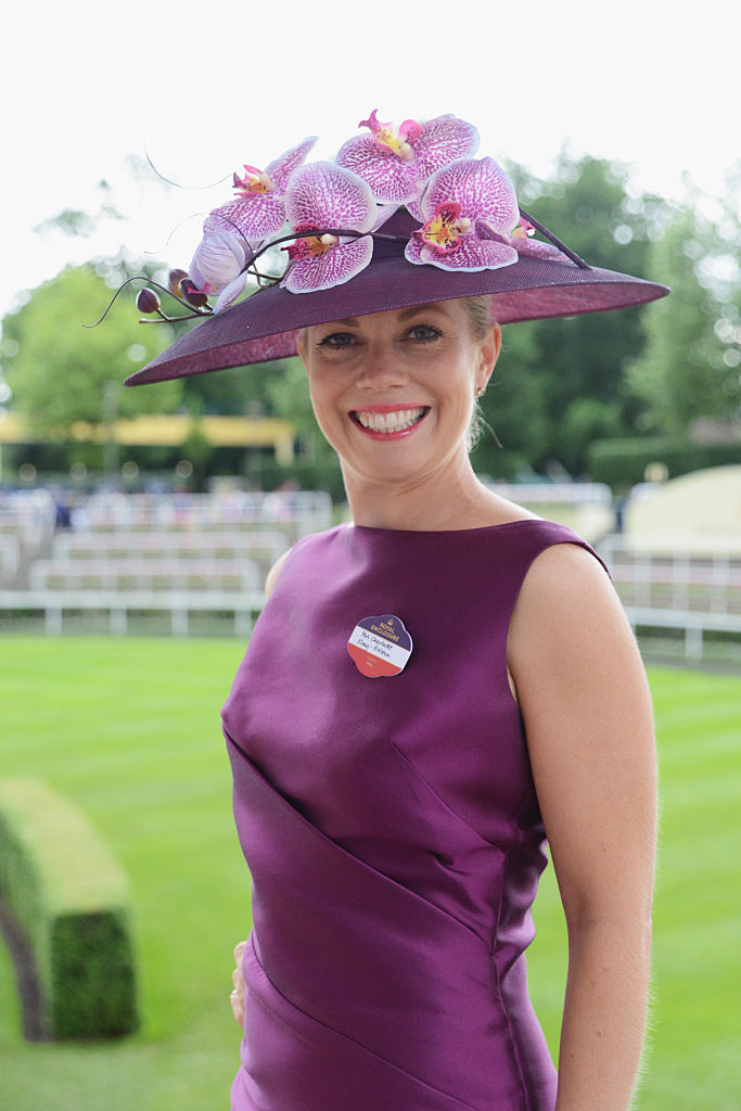 ASCOT, ENGLAND - JUNE 16:  Charlotte Elney Britton attends day 3 of Royal Ascot at Ascot Racecourse on June 16, 2016 in Ascot, England.  (Photo by Kirstin Sinclair/Getty Images for Ascot Racecourse)