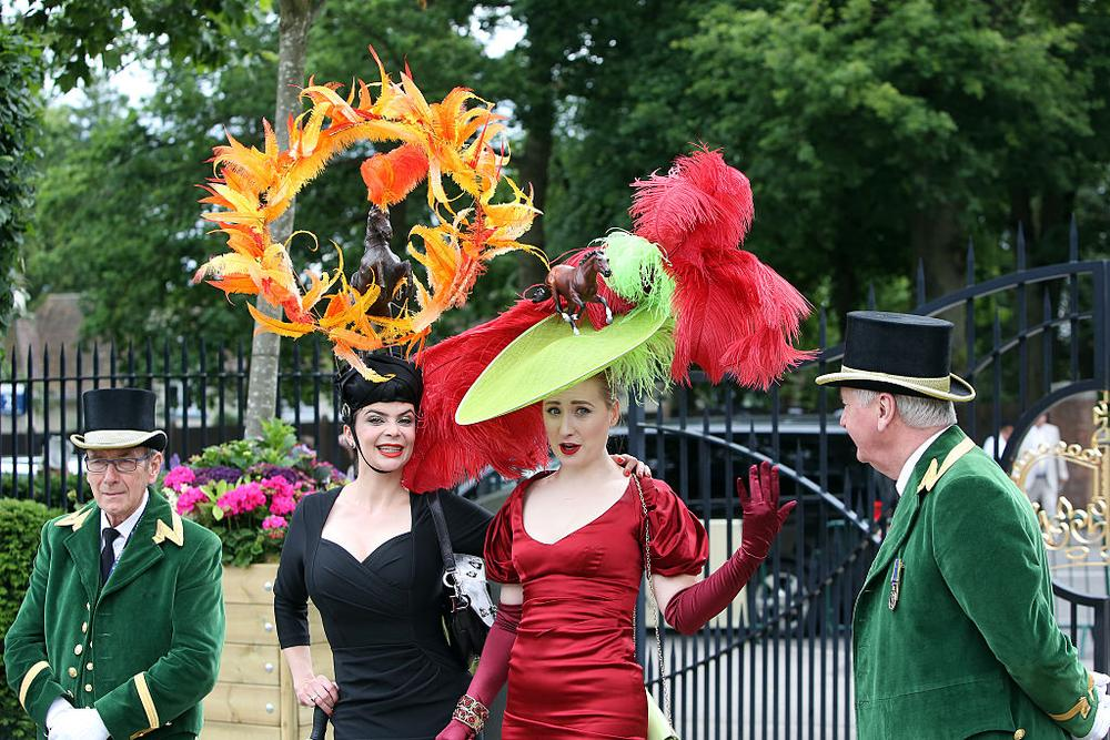 ASCOT,ENGLAND - JUNE 16: People attend Royal Ascot on Ladies Day on June 16, 2016 at Royal Ascot Race Course in Ascot, England (Photo by Horsephotos/Getty Images)