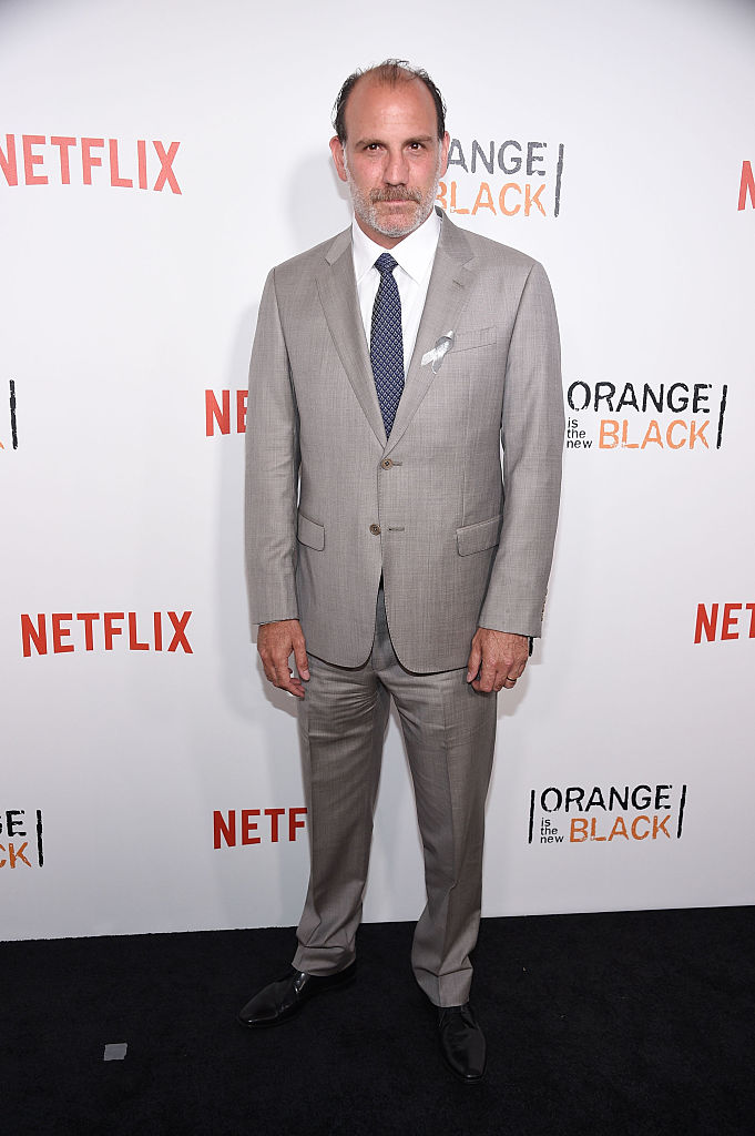 "NEW YORK, NY - JUNE 16: Actor Nick Sandow attends ""Orange Is The New Black"" premiere at SVA Theater on June 16, 2016 in New York City. (Photo by Dimitrios Kambouris/Getty Images)"